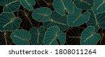 luxury golden art deco... | Shutterstock .eps vector #1808011264