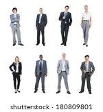 portraits of multi ethnic...   Shutterstock . vector #180809801