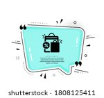 discount icon. quote speech...   Shutterstock .eps vector #1808125411