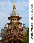 New Wooden Orthodox Church In...