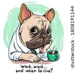 vector illustration. funny...   Shutterstock .eps vector #1808191144