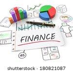 finance and management as a... | Shutterstock . vector #180821087
