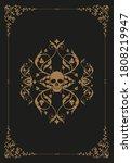 frame illustration ornamental... | Shutterstock .eps vector #1808219947