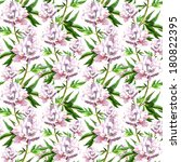 seamless vintage floral pattern ... | Shutterstock . vector #180822395