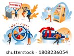 win lottery prize  fortune... | Shutterstock .eps vector #1808236054