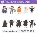 halloween shadow matching... | Shutterstock .eps vector #1808289121
