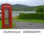 Lonely Phone Booth In Plockton...