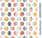 seamless pattern  circles. can... | Shutterstock .eps vector #1808323084