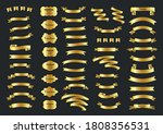 a set of ribbons. ribbon... | Shutterstock .eps vector #1808356531