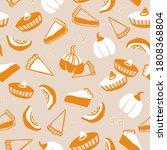hand drawn vector pattern of...   Shutterstock .eps vector #1808368804