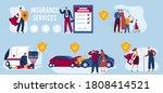 insurance service vector... | Shutterstock .eps vector #1808414521