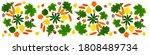 autumn leaves of trees birch ...   Shutterstock . vector #1808489734