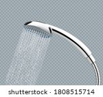 isolated shower head with... | Shutterstock .eps vector #1808515714