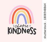 Choose Kindness Inspirational...