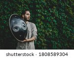 Handpan In The Hands Of A...