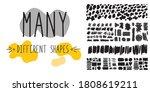 graphic doodle elements....   Shutterstock .eps vector #1808619211