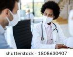 Black female doctor...