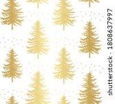 Christmas Tree Seamless Pattern....