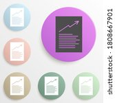 chart document badge color set. ...