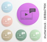 video player badge color set....