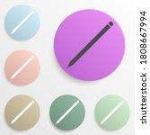 a pen badge color set. simple...