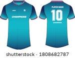 sports t shirt jersey design... | Shutterstock .eps vector #1808682787