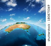 australia and new zeland.... | Shutterstock . vector #180875369