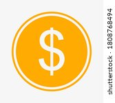 dollar icon. american currency...   Shutterstock .eps vector #1808768494