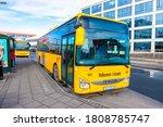 Local Bus In Reykjavik  Iceland....