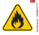 Flammable Substances Sign....