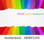 vector rainbow background with...