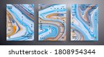 abstract acrylic poster  fluid...   Shutterstock .eps vector #1808954344