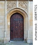 Facade From Bath Cathedral And...