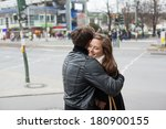 Young Romantic Couple In...