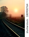 Railroad Track During Autumn...