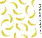 pop art bananas background | Shutterstock . vector #180908261