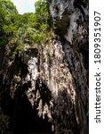 Batu Caves Is A Limestone Hill...