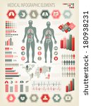 medical infographics elements.... | Shutterstock .eps vector #180938231