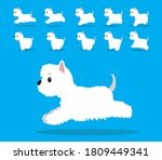 animal animation sequence dog...   Shutterstock .eps vector #1809449341