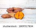 Sweet Organic Potatoes In...