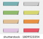 color web ribbons big set    Shutterstock . vector #1809523354