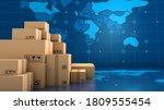 Stack Of Brown Box Packaging...