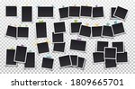 photo frames. big set of photo... | Shutterstock .eps vector #1809665701