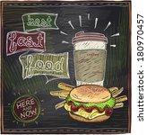 Best Fast Food Chalkboard...