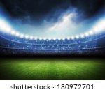 stadium | Shutterstock . vector #180972701