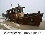 Wreck Of A Trawler That Ran...
