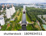 Floodgates On The Moscow Canal...