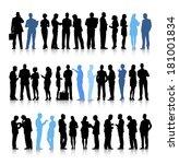 vector of interactive business... | Shutterstock .eps vector #181001834