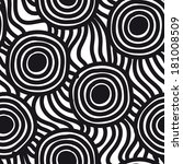 seamless simple pattern.... | Shutterstock . vector #181008509