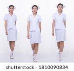 collage group full length... | Shutterstock . vector #1810090834